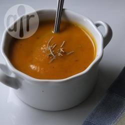 Recette soupe végétalienne au potiron et à la patate douce ...