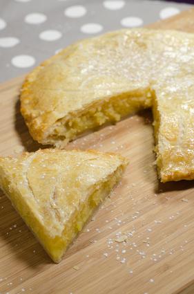 Recette de galette des rois à la crème de citron
