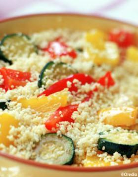 « couscous » minute aux légumes pour 1 personne