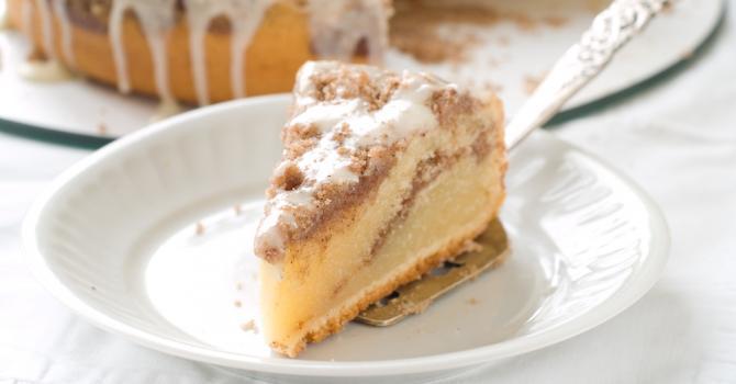 Recette de gâteau light à la crème café comme un gâteau au yaourt