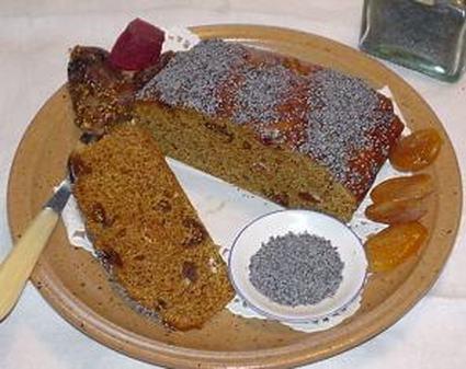 Recette de pain d'épices aux fruits confits et fruits secs