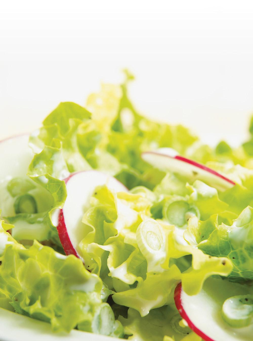Salade verte à la crème | ricardo