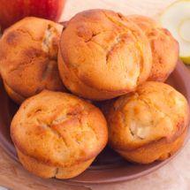 Muffin cœur fondant pomme