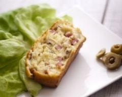 Recette cake jambon, olives, emmental