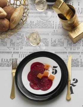 Betterave acidulée à la gelée de carotte pour 6 ...