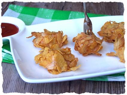 Recette de nuggets de poulet au corn flakes