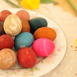 Recette comment teindre des œufs naturellement – toutes les ...