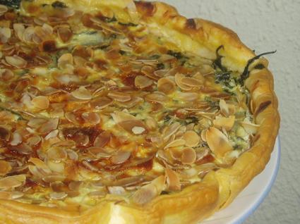 Recette de tarte aux feuilles de blettes