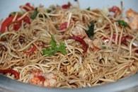 Recette de salade de nouillles chinoises aux crevettes