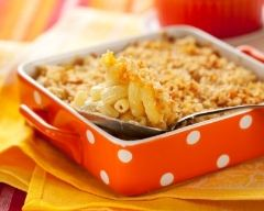 Recette gratin de macaronis à l'édam