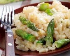 Recette risotto aux asperges et fromage frais