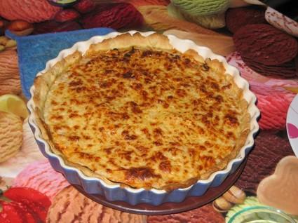 Recette de tarte au thon à la crème