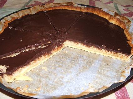 Recette de tarte choco/coco