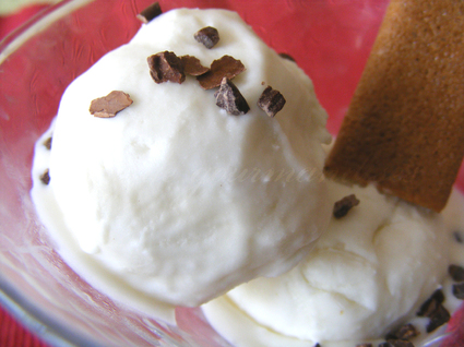 Recette de crème glacée à la noix de coco