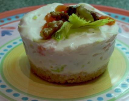 Recette de petits cheesecakes au saumon