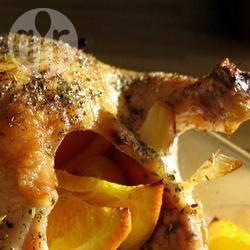Recette poulet rôti à l'orange – toutes les recettes allrecipes