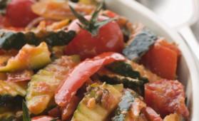 Courgettes à la provençale pour 6 personnes