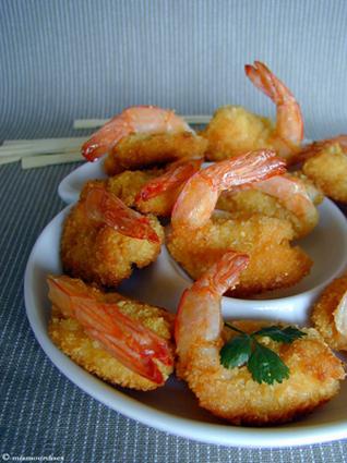 Recette de crevettes croquantes, sauce à l'abricot