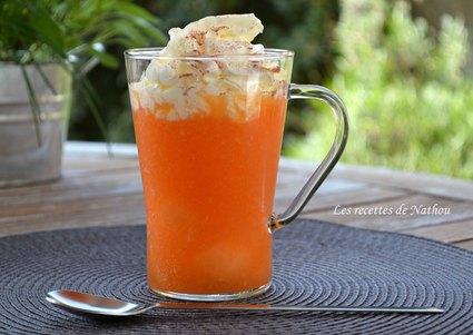 Recette de cappuccino glacé au melon