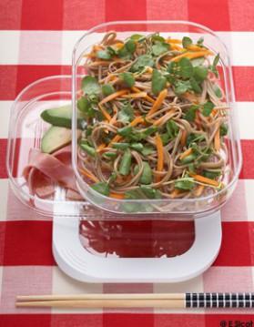 Soba en salade au cresson pour 4 personnes