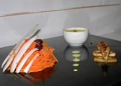 Recette endives et carottes en salade marocaine