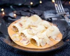 Recette cannelloni de crème de saumon, beurre de crabe et ...