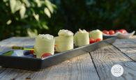 Recette de bouchées apéritives au concombre et saumon