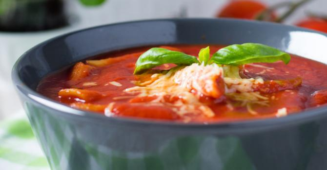 Recette de soupe corse allégée à la pancetta