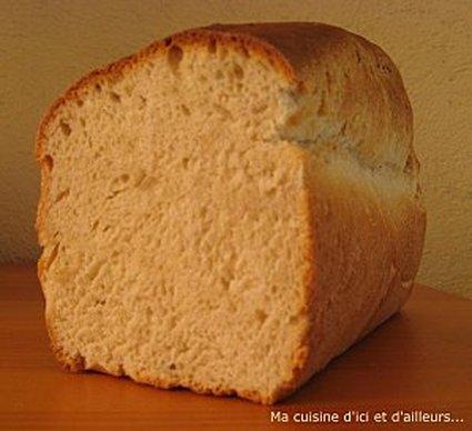Recette de pain de mie maison