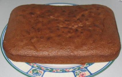 Recette de gâteau chocolat noix de pécan allégé