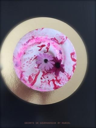 Recette de sweet rose cocktail revisité en entremet