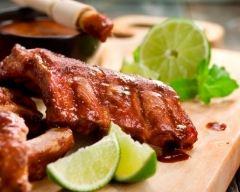 Recette travers de porc sauce barbecue