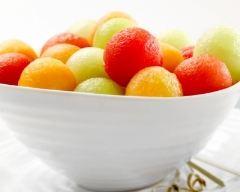 Recette méli-mélo de melon