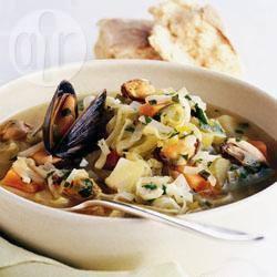 Recette soupe aux moules – toutes les recettes allrecipes