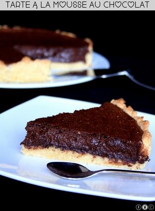 Recette de mousse au chocolat en tarte