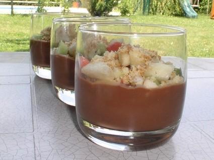 Recette de verrine chocolat spécial enfants