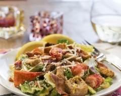 Recette salade au homard façon césar