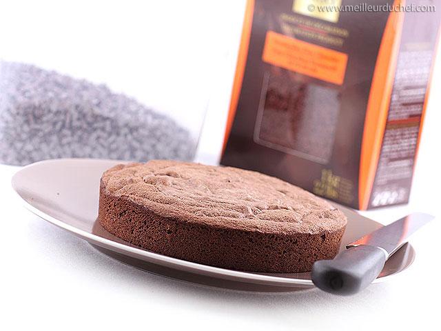 Génoise au chocolat  notre recette illustrée  meilleurduchef.com