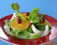 Recette salade d'endives et oranges