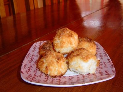 Recette de rochers à la noix de coco faciles et rapides