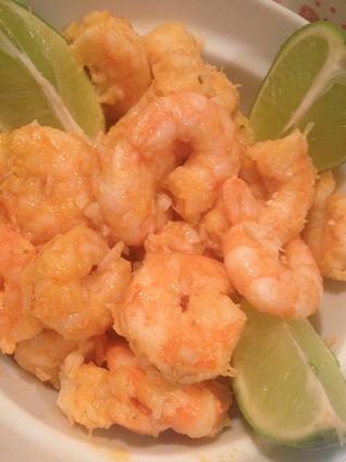 Recette de crevettes citron vert et piment de cayenne