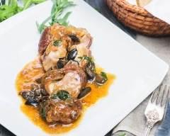 Recette gigot d'agneau aux olives