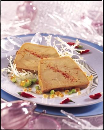 Recette de foie gras de canard en terrine