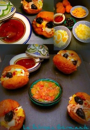 Recette de pains fricassés tunisiens