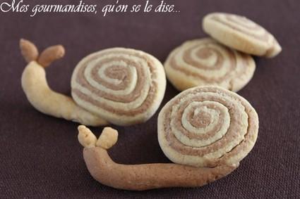 Recette de biscuits sablés escargots