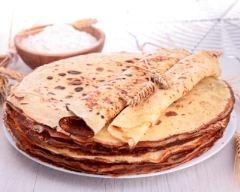 Recette pâte à crêpes salée ou sucrée