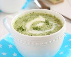 Recette soupe de concombres