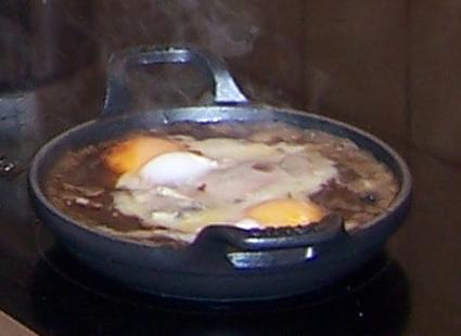 Recette oeufs au plat louis oliver
