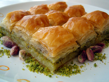 Recette de baklava turc