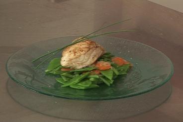Recette de lotte de petit bateau, légumes primeurs facile et rapide